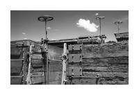 Wheel Brakes, Wooden Railroad Cars, Chama, New Mexico 181