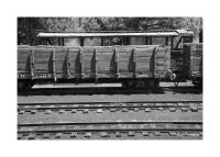 Wooden Railroad Cars & Tracks, Chama, New Mexico 186
