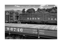 Wooden Railroad Cars, Chama, New Mexico 180