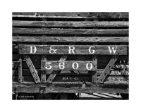 D&RGW Wooden Railroad Car, Chama, New Mexico 191