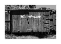 Wooden Railroad Car, Chama, New Mexico 177