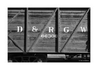 Wooden Railroad Car, Antonito, Colorado 174