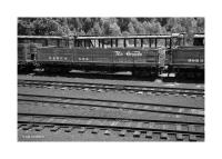 Wooden Railroad Car and Tracks, Chama, New Mexico 179